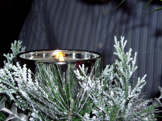 Abington Pigotts, UK: Excellent table decorations