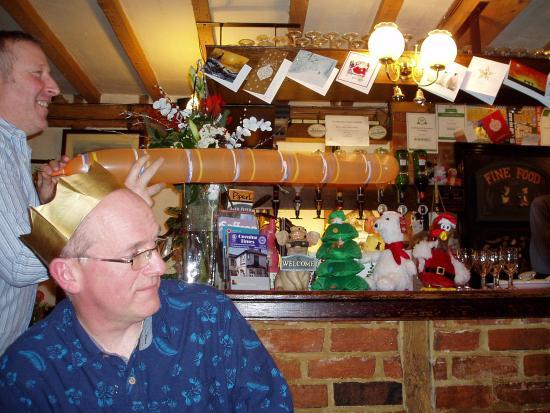 Abington Pigotts, UK: Bar