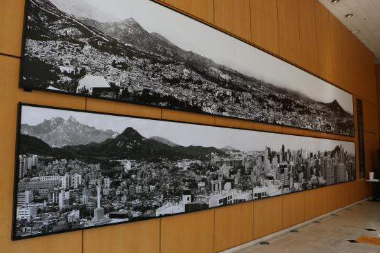 Seoul Museum of History: pictures of then and now