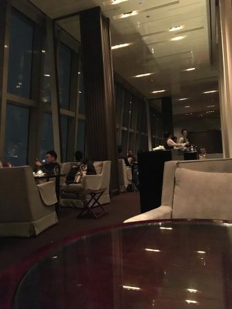 Bar on 87F Park Hyatt