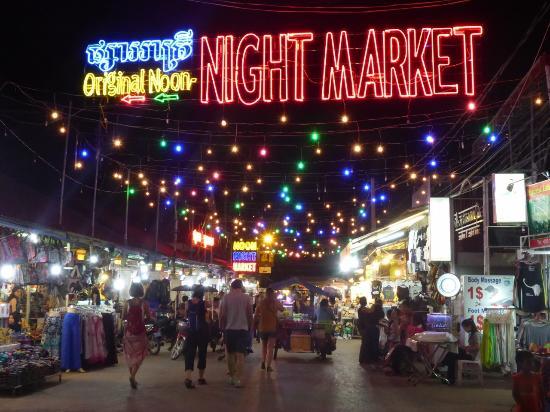 Neth Socheata Hotel: Night Market 2