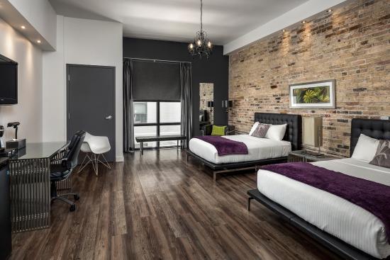 Hotel Metro: Brick Double Room