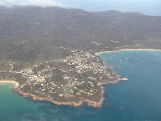 Tasmanië, Australië: Aerial shot 1