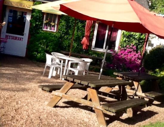 Malestroit, France : Jardin privatif