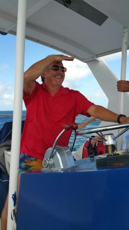 Simpson Bay, St Martin / St Maarten: Great fun with Captain Neil and crew.
