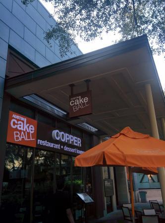 Copper Cake Balls Austin
