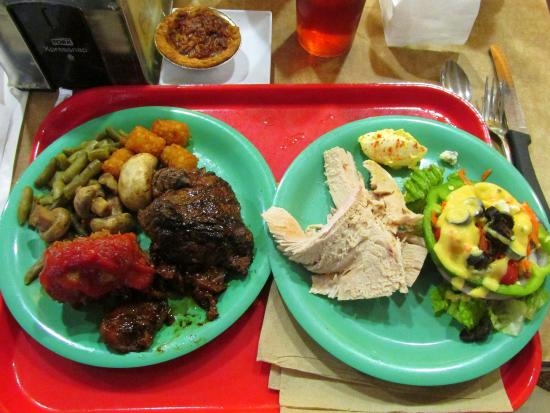 Delicious Christmas Lunch at Golden Corral, Kennesaw, GA - Picture ...