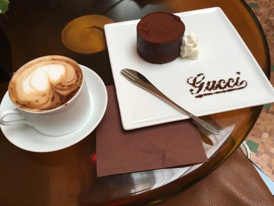 Gucci coffee picture of gucci cafe milan tripadvisor for Best coffee in milan