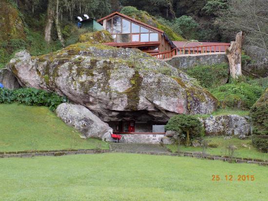 Jardin picture of hotel el paraiso mineral del chico for Jardines chicos