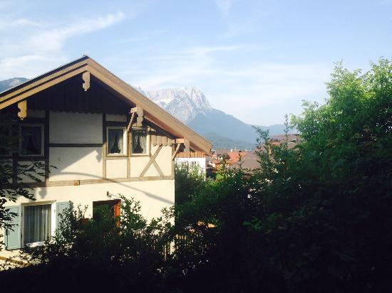 Landhaus Pitzner: View from the deck