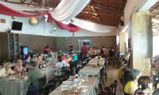 Restaurante Aeroporto: Ambiente interno