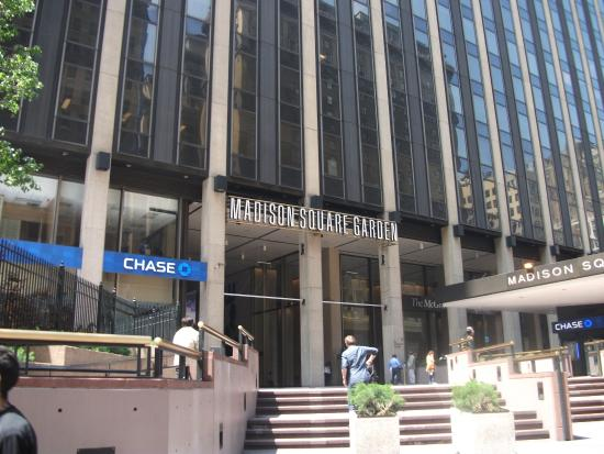 Madison square garden picture of madison square garden new york city tripadvisor for Address of madison square garden