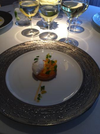 Restaurant Gordon Ramsay: citrus tart