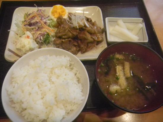 Satsumasendai, Japonia: 樋脇味噌焼き定食/620円