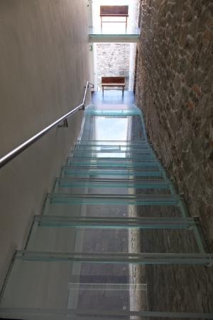 La Purificadora: The See Through Staircase