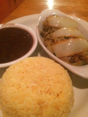Coco's Cuban: Pork and Rice