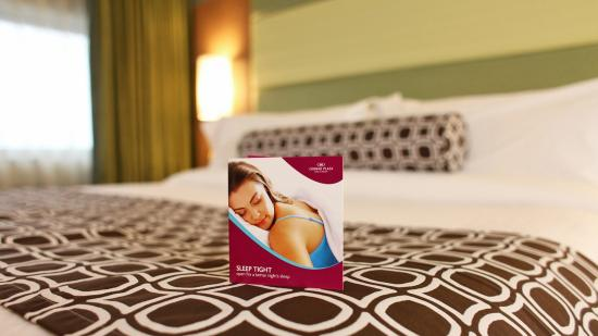 Sleep Advantage Kit at the Crowne Plaza Lansing West