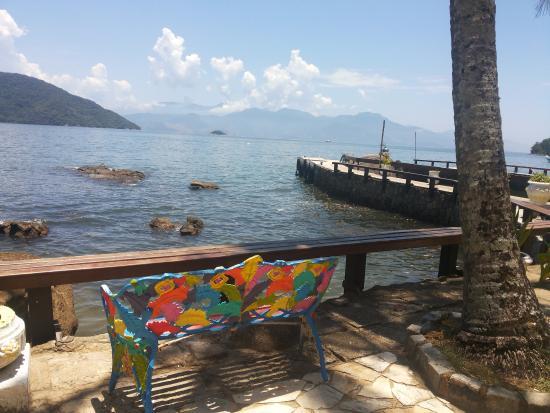 Aquario Hostel: Terraza