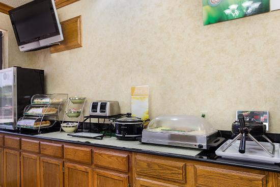 Van Buren, أركنساس: Breakfast Area