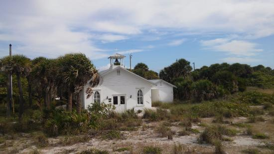 Gasparilla Island State Park: Small church next to the lighthouse....