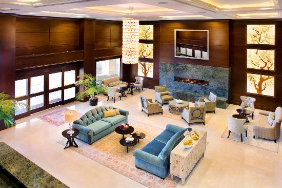Ayres Hotel Fountain Valley/Huntington Beach : FVLobby Aerial Web