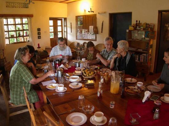 Fort Portal, Uganda: Breakfast