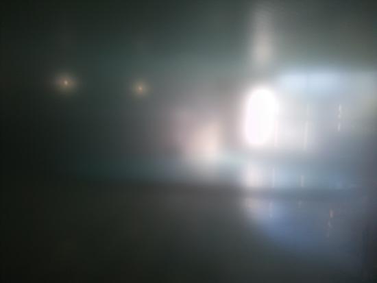Harazuru Onsen: レンズ曇り