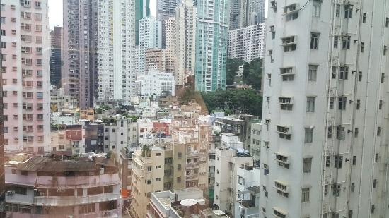 Window View - Picture of Travelodge Central Hollywood Road, Hong Kong - Tripadvisor