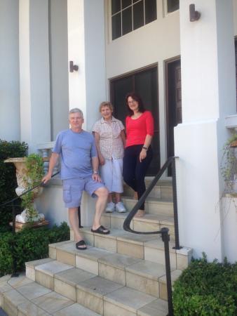 Casa del Mare Boutique Bed & Breakfast : Oleg, Daphne & Margarita