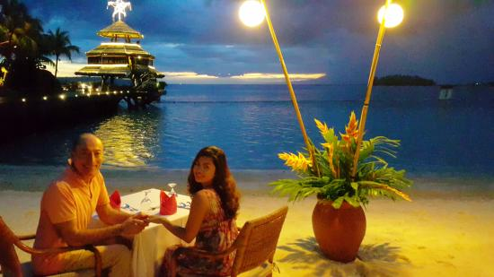 Pearl Farm Beach Resort Honeymoon Setup