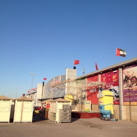 Außenbereich Haupteingang - Picture of Ajman China Mall, Ajman