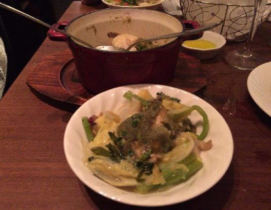 Bistro Uokin, Kichijoji: メカジキと季節野菜のストウブ蒸し