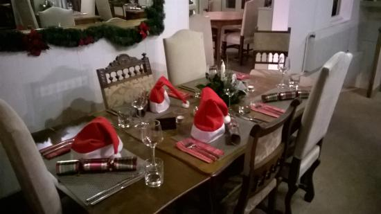 Vezins, Francia: Christmas Day Table