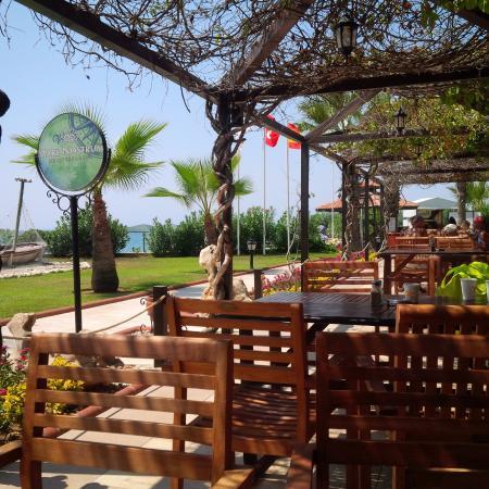 Décoration de la salle à manger bellis deluxe hotel restaurant à la plage