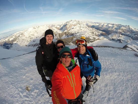Evolution 2: Sortie Ski de Randonnée avec Mathieu 24/12/2015