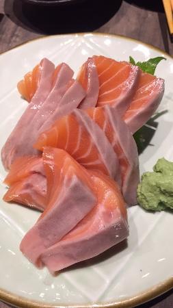 The Sushi Bar: Salmon Sashimi