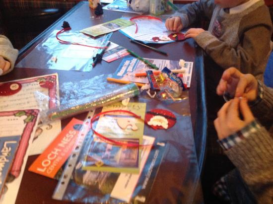 Эвимор, UK: Activities on the Santa Express.