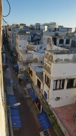 Riad Le Grand Large: the view from terrace