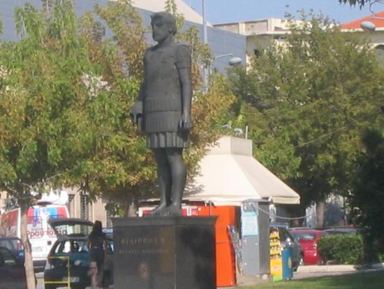 Statue of Philip II of Macedon