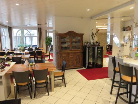 Langenau, Deutschland: Breakfast buffer