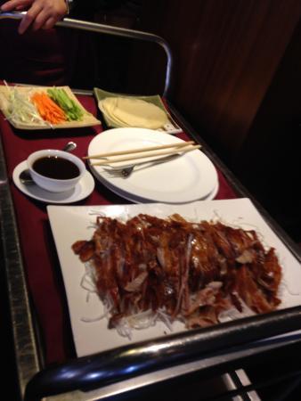 Pato laqueado fotograf a de restaurante hong madrid - Restaurante pato laqueado ...