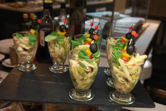 Melia Sitges: Nudelsalat - einmal anders serviert
