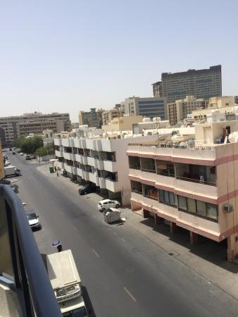 Dubai Palm Hotel: vue balcon