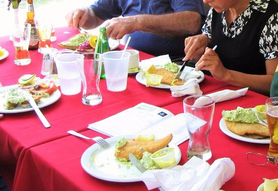 Puslinch, Canada : Delicous Open Face Sandwiches
