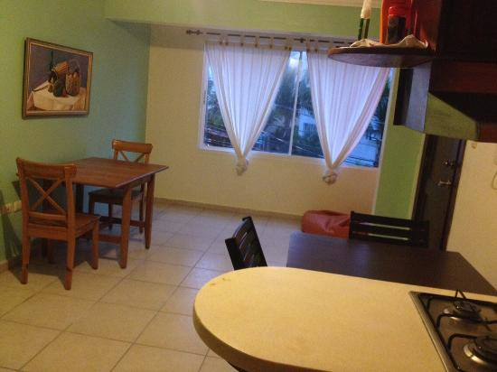 Bavaro Hostel: Dining Room of Shared Apartment