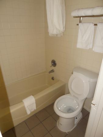Rodeway Inn: bath