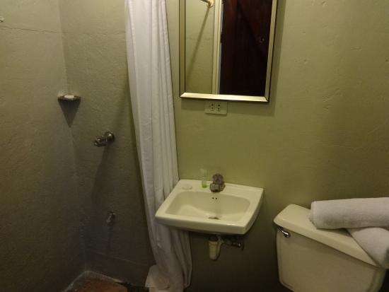 Hotel Liberia: bagno