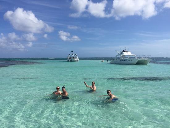 Atlantida Punta Cana Shallow Water Sand Bar