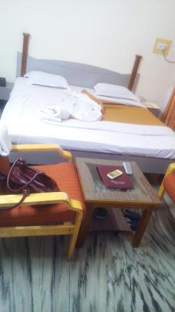 Hotel Cidade de Diu: Bed Room