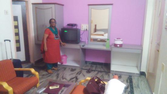 Hotel Cidade de Diu: Family Room